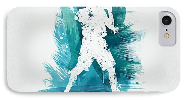Basketball Player Phone Case by Aged Pixel