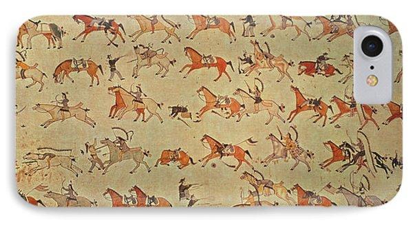 Battle Of Little Bighorn IPhone Case by Granger