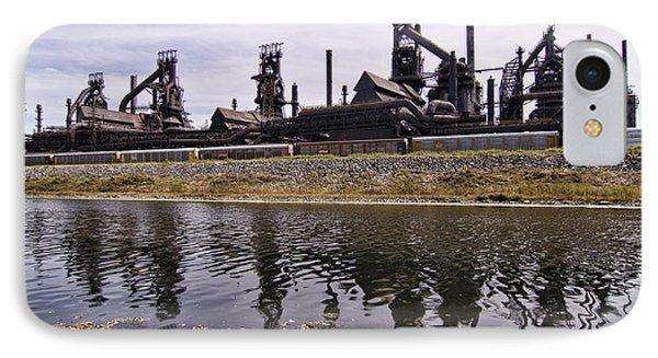 Bethlehem Steel Phone Case by Michael Dorn