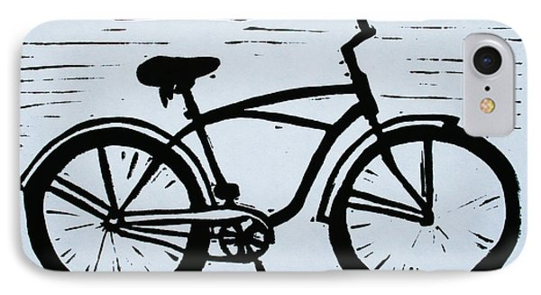 Bike 9 IPhone Case by William Cauthern