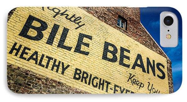 Bile Beans Advertising Phone Case by Bailey Cooper