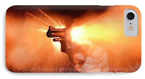 Blank-firing Revolver IPhone Case