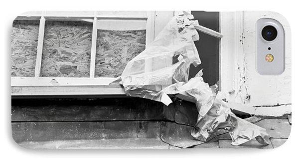 Boarded Up Window IPhone Case by Tom Gowanlock