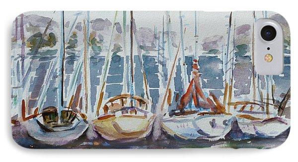4 Boats Phone Case by Xueling Zou