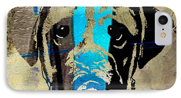 Boxer Phone Case by Marvin Blaine