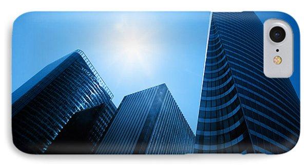 Business Skyscrapers Phone Case by Michal Bednarek