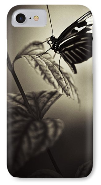 Butterfly Brown Tone IPhone Case by Bradley R Youngberg
