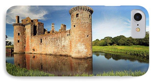 Caerlaverock Castle Phone Case by Grant Glendinning