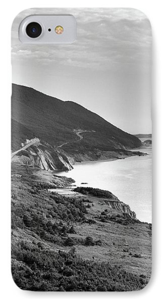 Canada, Nova Scotia, Cape Breton IPhone Case by Walter Bibikow