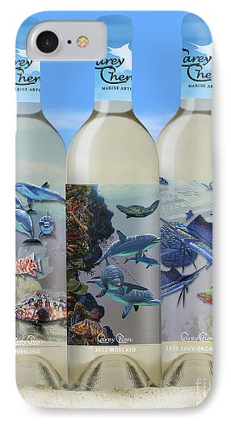 Carey Chen Fine Art Wines Phone Case by Carey Chen