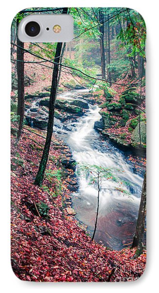 Chesterfield Gorge New Hampshire Phone Case by Edward Fielding
