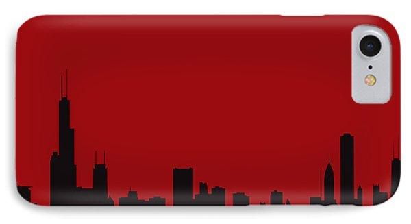 Chicago Bulls IPhone Case by Joe Hamilton