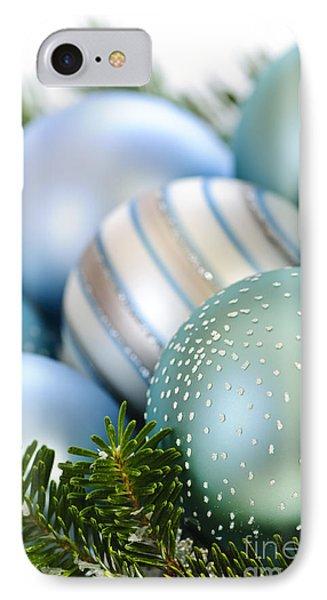 Christmas Ornaments Phone Case by Elena Elisseeva