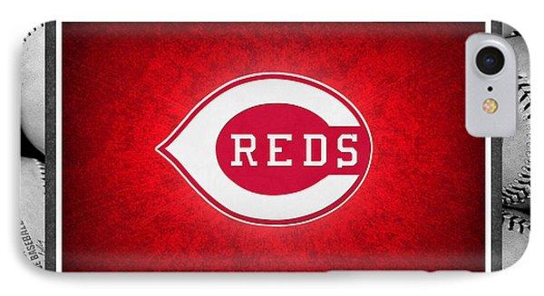 Cincinnati Reds Phone Case by Joe Hamilton
