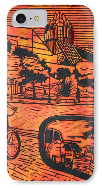 City Hall IPhone Case by William Cauthern