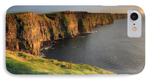 Cliffs Of Moher Sunset Ireland Phone Case by Pierre Leclerc Photography