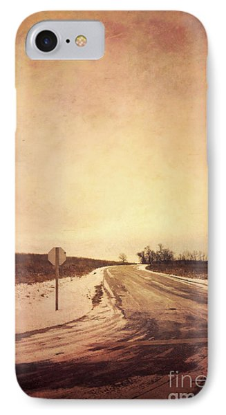 Country Road IPhone Case by Jill Battaglia