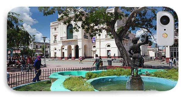 Cuba, Santa Clara Province, Santa IPhone Case by Walter Bibikow