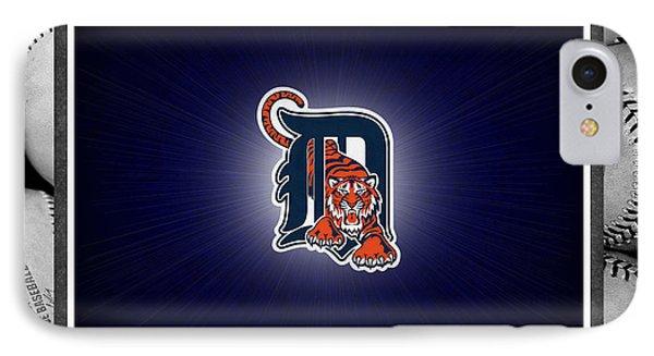 Detroit Tigers IPhone Case by Joe Hamilton