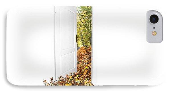 Door To New World Phone Case by Michal Bednarek