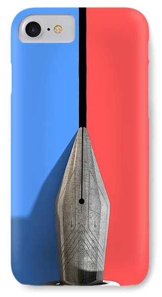 Drawing The Line Phone Case by Allan Swart