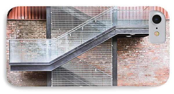 Exterior Stairs IPhone Case by Tom Gowanlock