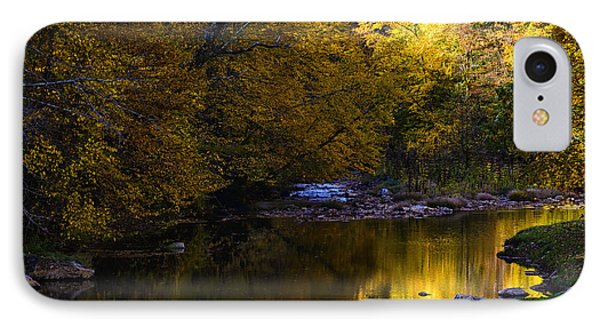Fall Color Gauley River Headwaters IPhone Case by Thomas R Fletcher