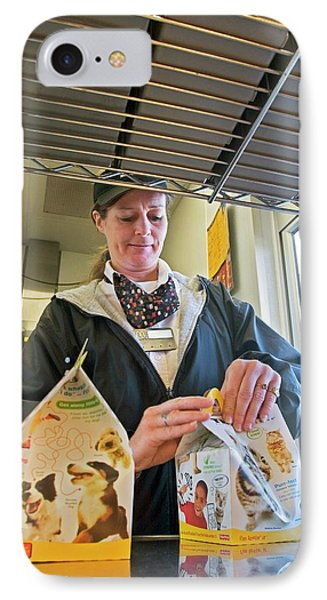 Fast Food Restaurant IPhone Case