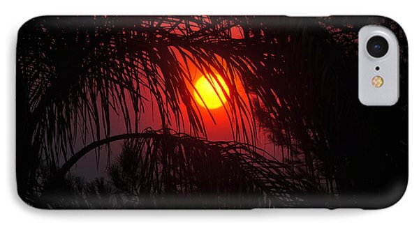 Fire In The Sky IPhone Case by Jay Milo