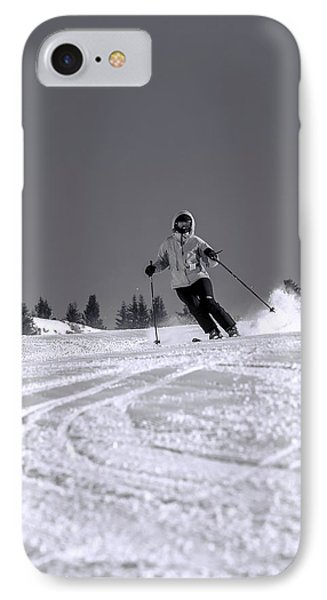 First Run IPhone Case by Sebastian Musial