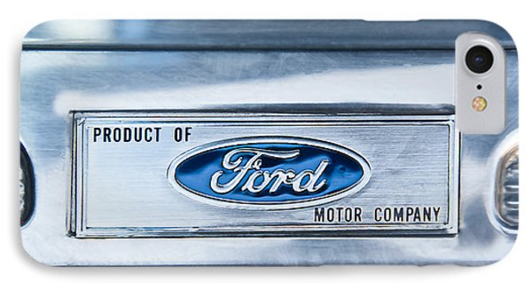 Powered By Ford Emblem -0307c Phone Case by Jill Reger