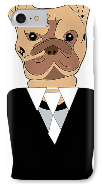 French Bulldog Painting IPhone Case by Marvin Blaine