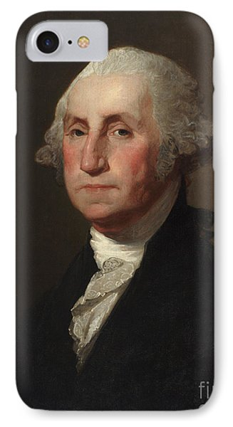 George Washington IPhone Case by Gilbert Stuart