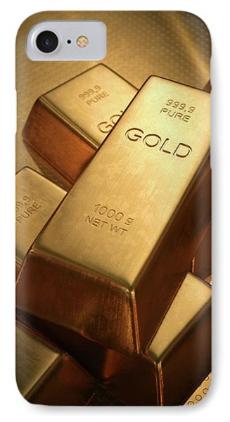 Gold Bullion IPhone Case