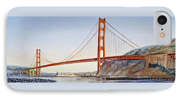 Golden Gate Bridge San Francisco IPhone Case by Irina Sztukowski