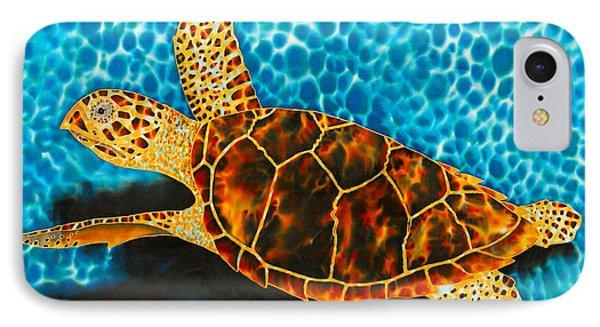 Green Sea Turtle Phone Case by Daniel Jean-Baptiste