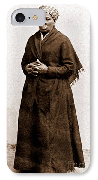 Harriet Tubman, American Abolitionist IPhone Case by Photo Researchers