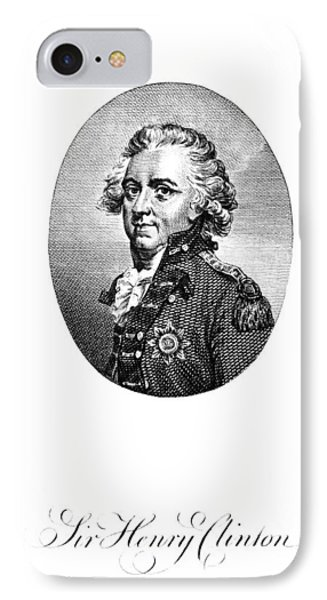 Henry Clinton (1738-1795) IPhone Case by Granger