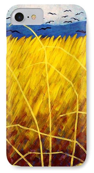 Homage To Van Gogh Phone Case by John  Nolan