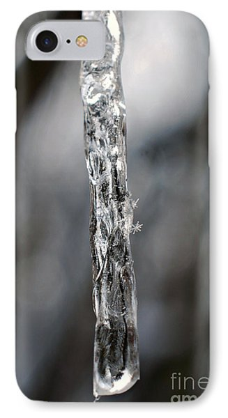 Icicle And Snowflakes IPhone Case