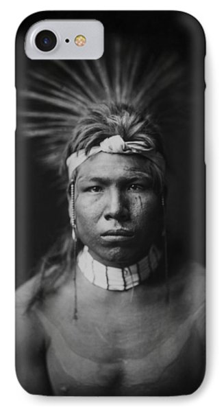 Indian Of North America Circa 1905 Phone Case by Aged Pixel