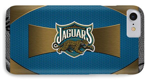 Jacksonville Jaguars Phone Case by Joe Hamilton