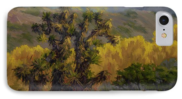 Joshua Trees And Cottonwoods IPhone Case
