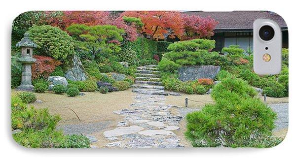 Japan, Kyoto, Arashiyama, Sagano IPhone Case by Rob Tilley