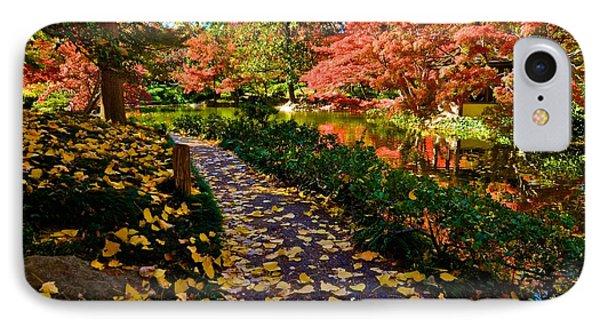 IPhone Case featuring the photograph Japanese Gardens by Ricardo J Ruiz de Porras