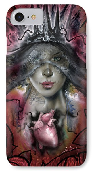 Kat Von Dead IPhone Case by Luis  Navarro