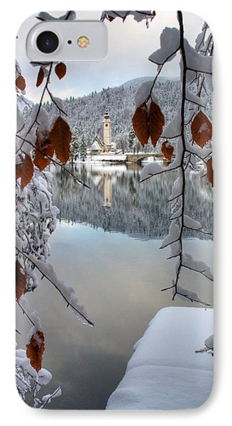 Lake Bohinj In Winter IPhone Case