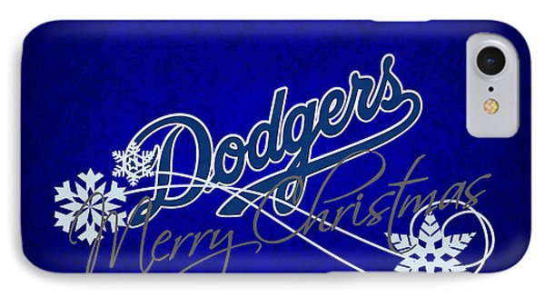 Los Angeles Dodgers Phone Case by Joe Hamilton