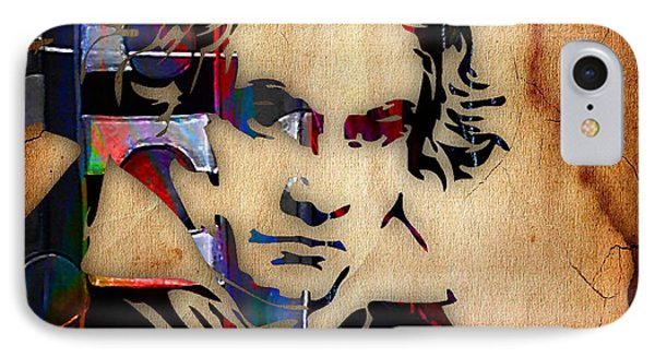 Ludwig Van Beethoven Collection IPhone Case by Marvin Blaine