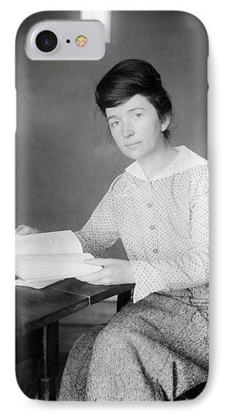 Margaret Sanger (1879-1966) IPhone Case by Granger